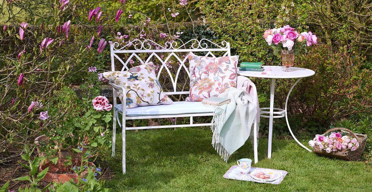 Pink Garden Furniture Garden furniture ideas country garden workwithnaturefo