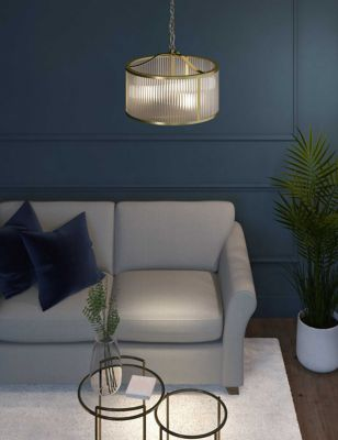 Monroe Glass Pendant Light