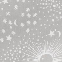 Cotton Mix Constellation Bedding Set - greymix