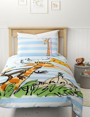 Pure Cotton Giraffe Bedding Set