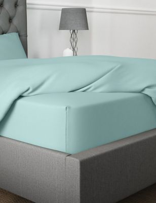 Egyptian Cotton 230 Thread Count Extra Deep Fitted Sheet