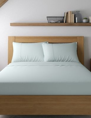 2 Pack Cotton Rich Percale Pillowcases