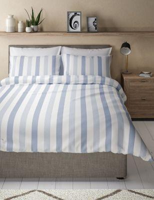 Hadley Pure Cotton Striped Bedding Set