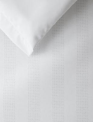 Pure Cotton Striped Waffle Bedding Set