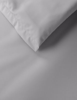 Egyptian Cotton 400 Thread Count Percale Duvet Cover