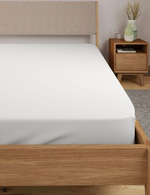 Egyptian Cotton 400 Thread Count Percale Fitted Sheet