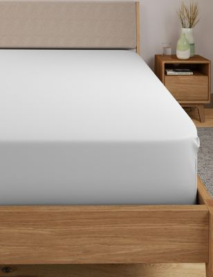 Egyptian Cotton 400 Thread Count Percale Extra Deep Fitted Sheet