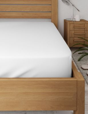 Pure Cotton 600 Thread Count Sateen Deep Fitted Sheet