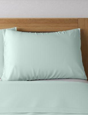 Egyptian Cotton 400 Thread Count Sateen Standard Pillowcase