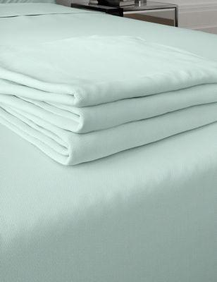 Egyptian Cotton 400 Thread Count Sateen Flat Sheet