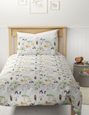 Cotton Rich Animal Bedding Set