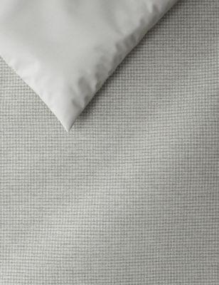 Cotton Rich Waffle Bedding Set