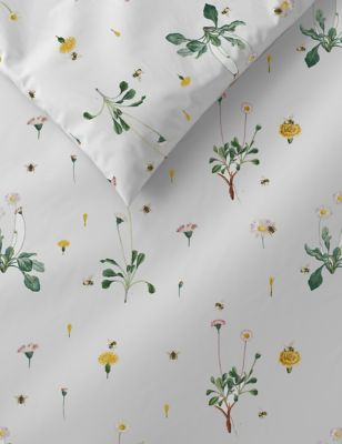 Pure Cotton Floral Bedding Set