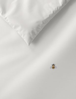 Pure Cotton Bee Embroidered Bedding Set