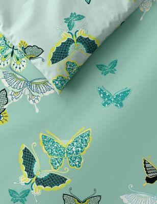 Cotton Rich Butterfly Bedding Set