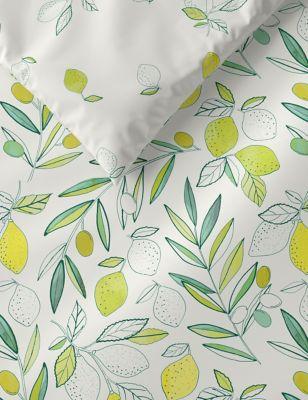 Pure Cotton Lemon Bedding Set