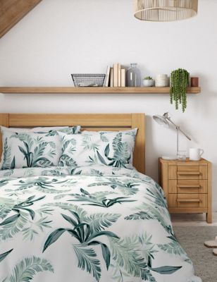 Pure Cotton Botanical Bedding Set