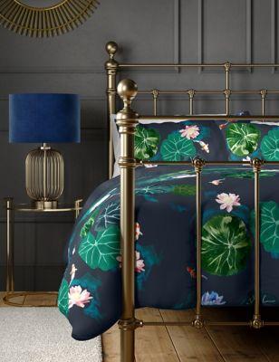 Pure Cotton Waterlily Bedding Set