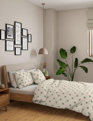 2 Pack Cotton Mix Leaf Bedding Sets