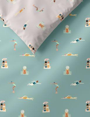 Cotton Rich Swimmers Bedding Set