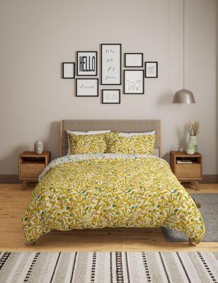 Cotton Mix Floral Bedding Set