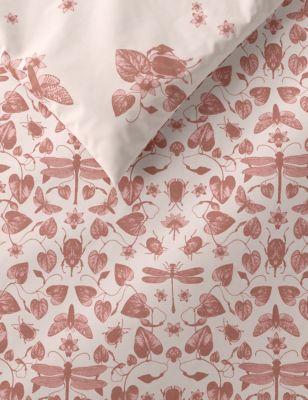 Cotton Mix Bugs Bedding Set