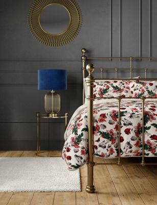 Pure Cotton Butterfly Floral Bedding Set