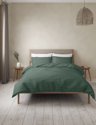 Pure Cotton Striped Bedding Set