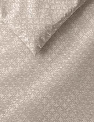 Cotton Mix Textured Metallic Bedding Set