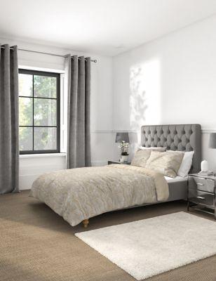 Marble Metallic Jacquard Bedding Set