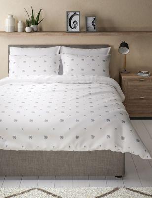 Cotton Rich Elephant Bedding Set