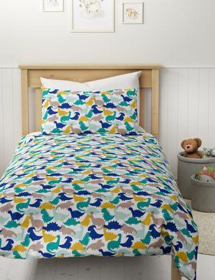 Cotton Mix Dinosaur Bedding Set