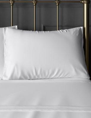 2 Pack Cotton Mix Non-Iron Pillowcases