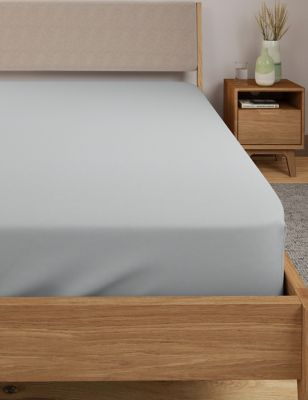 Dreamskin® Pure Cotton Deep Fitted Sheet