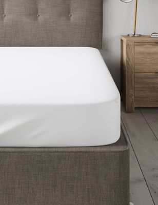 Dreamskin® Pure Cotton Fitted Sheet