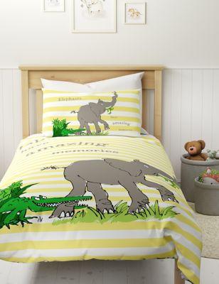 Pure Cotton Elephant Bedding Set