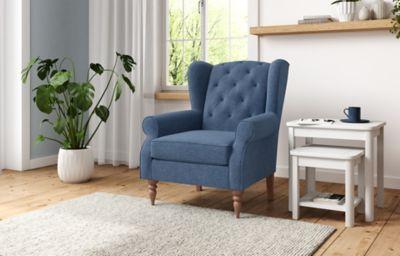 Highland Button Small Armchair