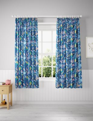 Glow in the Dark Under the Sea Blackout Kids Curtains