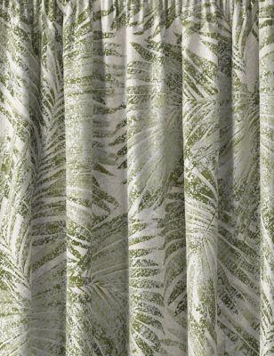 Cotton Pencil Pleat Blackout Curtains