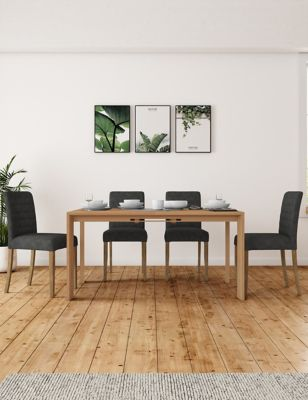 Chamfer Extending Dining Table