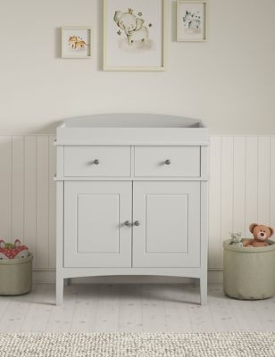 Hastings Grey Changing Table