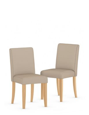 Set of 2 Milton Plain Dining Chairs