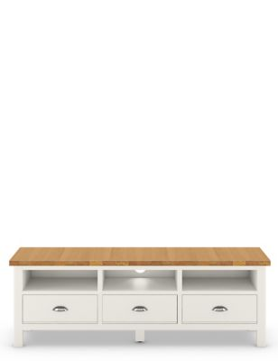 Padstow Wide TV Unit