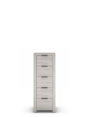 Cora Tall 5 Drawer Chest