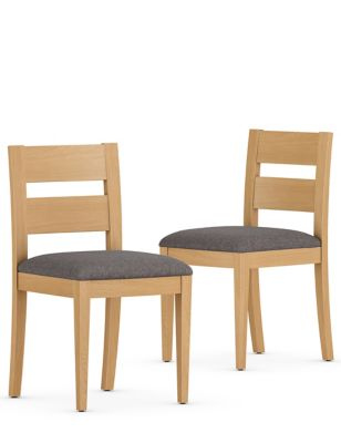 Set of 2 Stockholm Dining Chairs