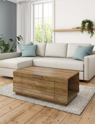 Groove Storage Coffee Table