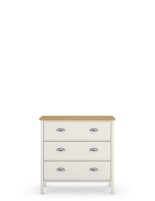 Padstow 3 Drawer Chest