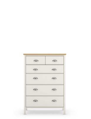 Padstow 6 Drawer Chest