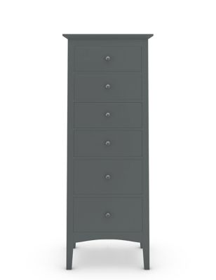 Hastings Tall 6 Drawer Chest