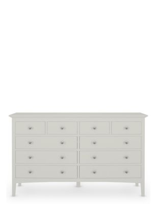 Hastings Wide 10 Drawer Chest